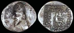 Ancient Coins - Orodes I Drachm (90-80 BC) - Rhagae Mint