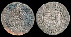 World Coins - 1510 Hungary Denar - Vladislav II XF