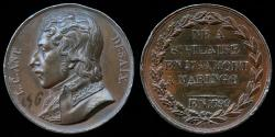 World Coins - 1799  France - Louis Charles Antoine Desaix a Napoleonic general and military leader killed in the battle of Marengo by Francois-Augustin Caunois.