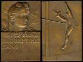 World Coins - 1910 France – High Jump Medal