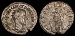 Ancient Coins - Gordian III Antoninianus - VICTORIA AETER - Rome Mint