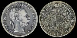 World Coins - 1879 Austria Florin XF