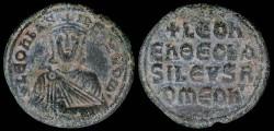Ancient Coins - Leo VI Follis - Constantinople Mint
