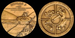 Us Coins - 1975 US – Skylab 3 Commemorative Medal