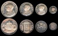 World Coins - 1975 Vatican: Pope Paul VI - Silver Jubilee Set