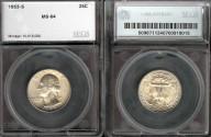 Us Coins - 1953s Washington Quarter SEGS MS64