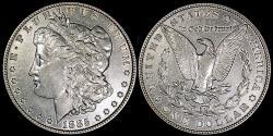 Us Coins - 1885 Morgan Dollar
