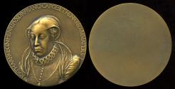 World Coins - 1579 France - Catherine de Medici by Germain Pilon