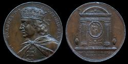 """World Coins - 1731 Great Britain – King John by Jean Dassier (From his series """"Kings and Queens of England"""")"""