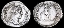 Ancient Coins - Caracalla Denarius - PONTIF TRP VIIII COS II - Rome Mint