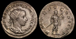 Ancient Coins - Gordian III Antoninianus - P M TR P V COS II P P - Rome Mint