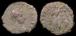 Ancient Coins - Arcadius 1/2 Centenionalis - SALVS REIPVBLICAE - Antioch Mint