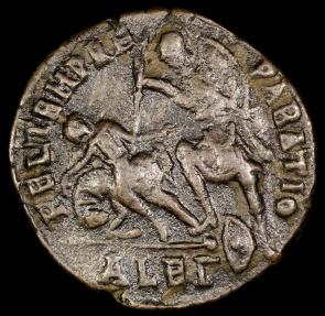 Ancient Coins - Constantius II Centenionalis - FEL TEMP REPARATIO - Alexandria
