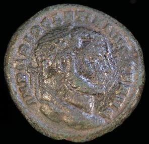 Ancient Coins - Diocletian Ae Follis - SACRA MON VRB AVGG ET CAESS NN - Rome Mint