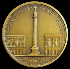 World Coins - 1805 France - Napoleon - Column to the Grand Army by Jean-Bertrand Andrieu, Nicolas Guy Antoine Brenet and Dominique-Vivant Denon