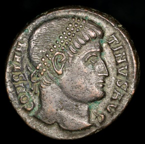 Ancient Coins - Constantine I Ae3 - PROVIDENTIAE AVGG - Nicomedia Mint