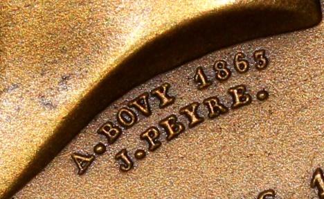 World Coins - 1863 France - Napoléon Eugène Louis Jean Joseph Bonaparte, prince Impérial de France - Birth Commemorative Medal by Jean François Antoine Bovy