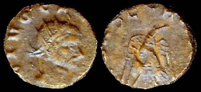 Ancient Coins - Claudius II, Gothicus Antoninianus - CONSECRATIO - Rome Mint