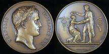 World Coins - 1807 France - Napoleon - Independence of Dantzick by Jean-Bertrand Andrieu and Dominique-Vivant Denon
