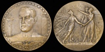 World Coins - 1917 France - America Joins the Allies by René Grégoire