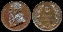 World Coins - 1815  France - François de Malherbe, French poet, critic, and translator; Commemorative Medal by Jacques-Édouard Gatteaux