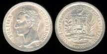 World Coins - 1960(a) Venezuela 1 Bolivar BU