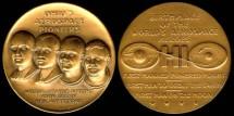 Us Coins - 1969 US: Ohio's Aerospace Pioneers commemorative medal