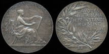 World Coins - 1900 – France: 1st Centenary of Solicitors at the Tribunal of the Seine