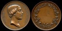 World Coins - 1842 France - Henri de France Marriage Medal by Raymond Gayrard