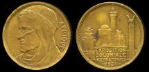 World Coins - 1931  France - 1931 International Colonies Exposition of Paris by Louis Desvignes