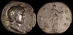 Ancient Coins - Hadrian Denarius - COS III - Rome Mint