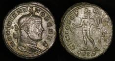 Ancient Coins - Galerius Follis - GENIO POPVLI ROMANI - Siscia Mint