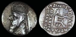 Ancient Coins - Mithradates II Drachm (123-88 BC) Ecbatana Mint