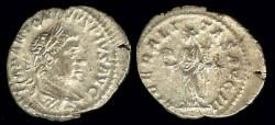Ancient Coins - Elagabalus Denarius - LIBERALITAS AVGG III - Rome Mint