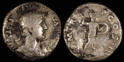 Ancient Coins - Hadrian Denarius - PM TRP COS III - Rome
