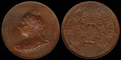 World Coins - 1897 GB - Queen Victoria Jubilee Medal