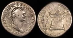 Ancient Coins - Domitian Denarius - PRINCEPS IVVENTVTIS - Rome Mint