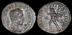 Ancient Coins - Elagabalus Denarius - P M TR P IIII COS III P P - Rome Mint