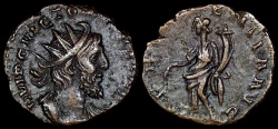 Ancient Coins - Victorinus Antoninianus - AEQVITAS AVG - Mainz or Trier Mint