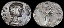 Ancient Coins - Julia Domna Denarius - VENVS FELIX - Rome Mint