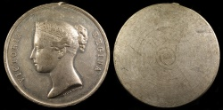 World Coins - 1837 Great Britain - Queen Victoria Medal by After Edward William Wyon