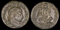 Ancient Coins - Crispus Follis - ALEMANNIA DEVICTA - Sirmium Mint