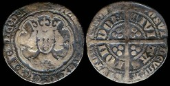 World Coins - 1327-1377 -  Edward III - Groat - London Mint