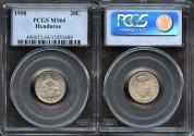 World Coins - 1958 Honduras 20 Centavos PCGS MS64