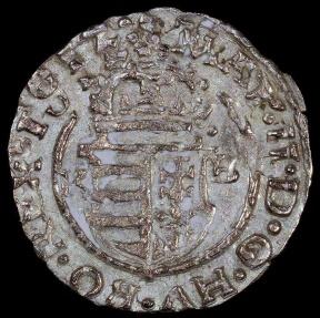World Coins - 1612 KB Hungary 1 Denar - Mathias II - AU Silver