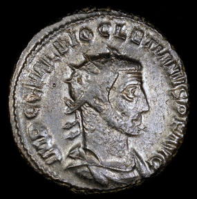 Ancient Coins - Diocletian Antoninianus - VICTORIA AVG - Antioch Mint