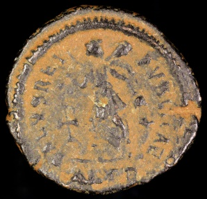 Ancient Coins - Arcadius Ae4 - SALVS REIPVBLICAE - Alexandria Mint