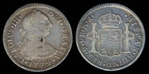 World Coins - 1772 Mo-FM Mexico 2 Real VF