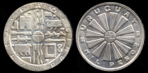 World Coins - 1969 So Uruguay 1000 Peso - F.A.O. Issue - Commemorative Silver BU