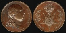 World Coins - 1815 France – Louis XVIII - Commemoration of the Order of the Lys